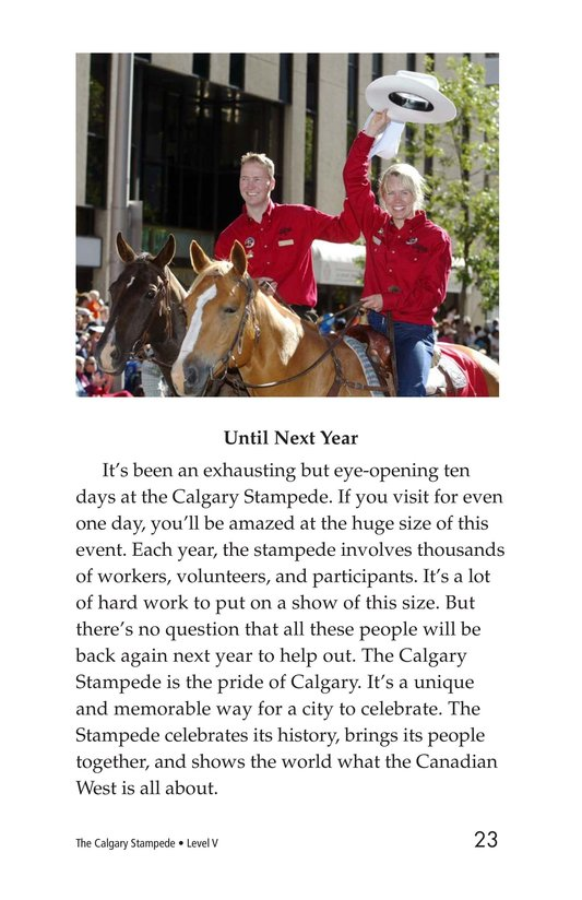 Book Preview For The Calgary Stampede Page 23