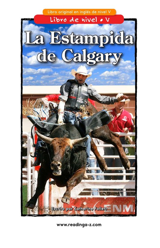 Book Preview For The Calgary Stampede Page 1