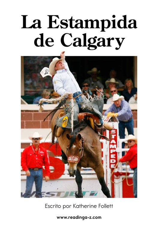 Book Preview For The Calgary Stampede Page 2