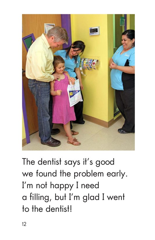 Book Preview For Going to the Dentist Page 12