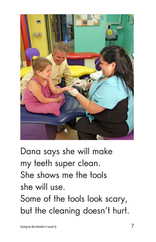 Book Preview For Going to the Dentist Page 7