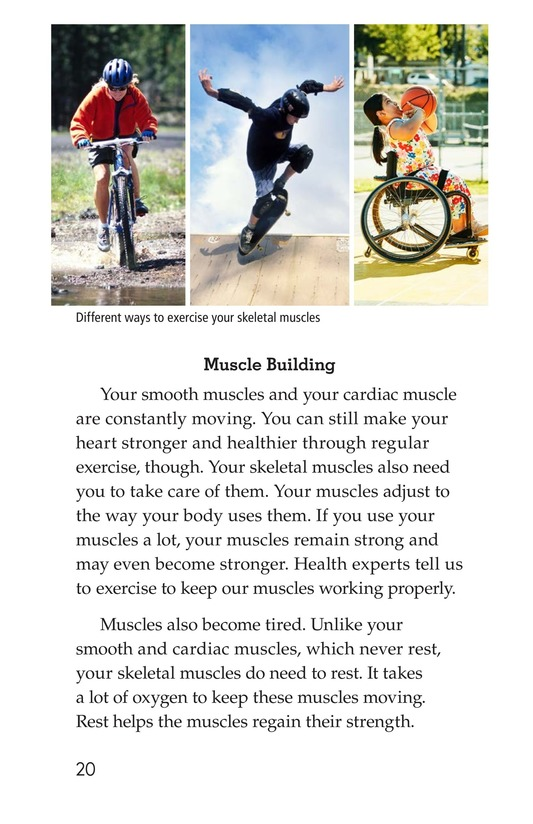 Book Preview For Get Moving! All About Muscles Page 20