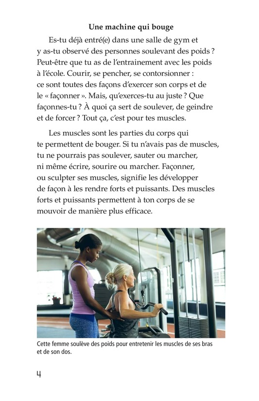 Book Preview For Get Moving! All About Muscles Page 4