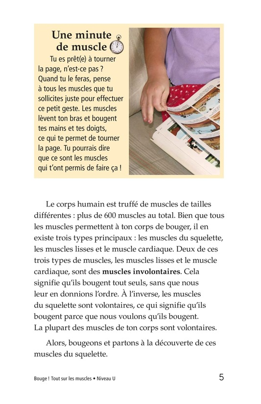 Book Preview For Get Moving! All About Muscles Page 5