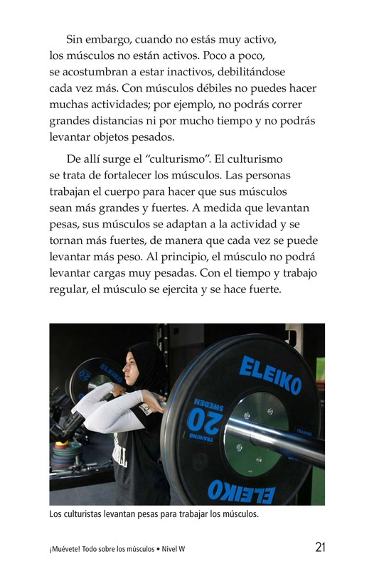 Book Preview For Get Moving! All About Muscles Page 21