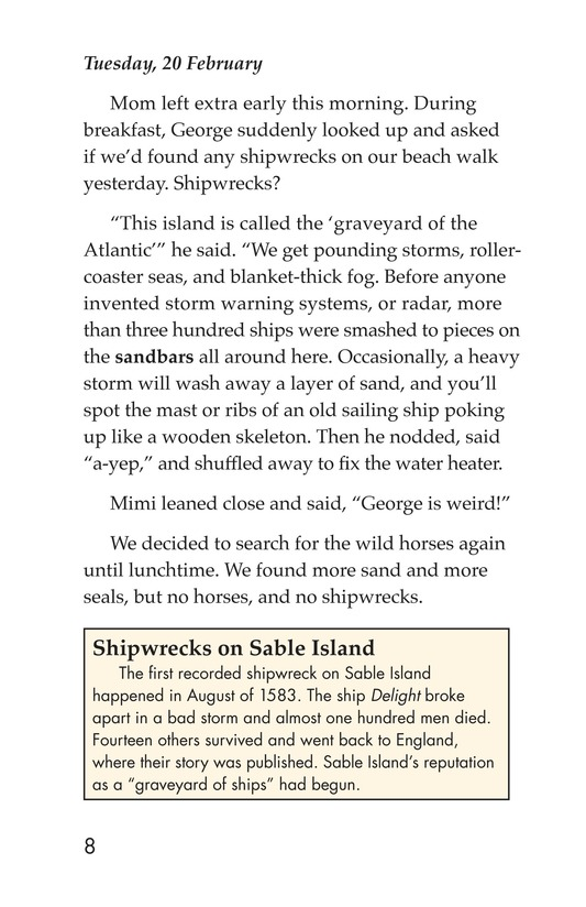 Book Preview For Born on Sable Island Page 8