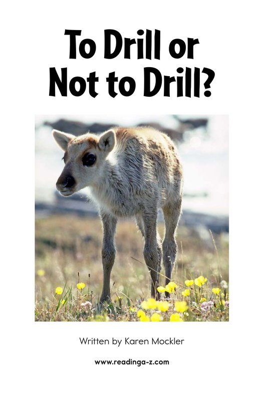 Book Preview For To Drill or Not to Drill? Page 2