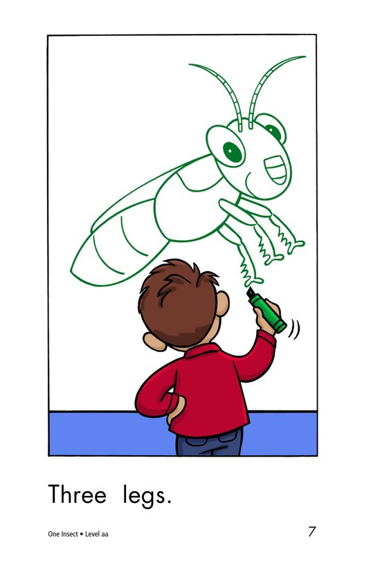 Book Preview For One Insect Page 7