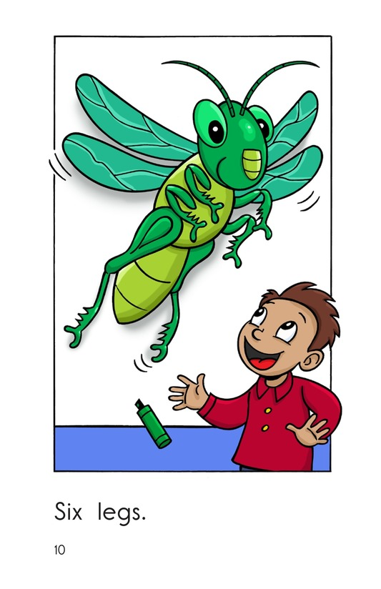 Book Preview For One Insect Page 10