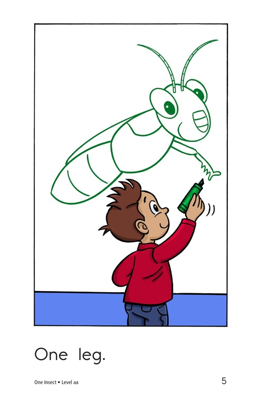 Book Preview For One Insect Page 5