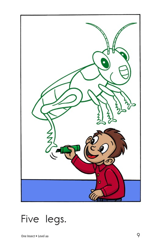 Book Preview For One Insect Page 9