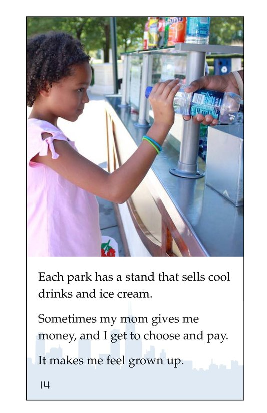 Book Preview For I Love City Parks Page 14