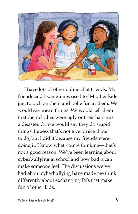 Book Preview For My Secret Internet Friend Page 9