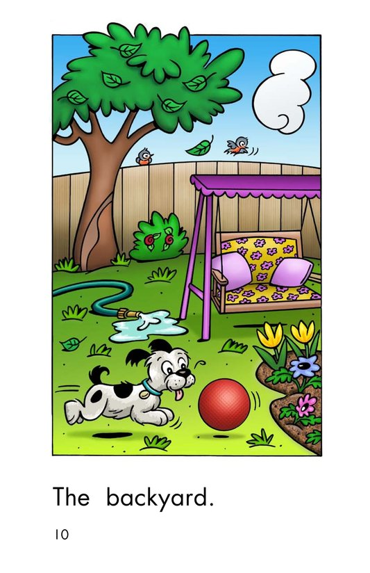 Book Preview For The Backyard Page 10