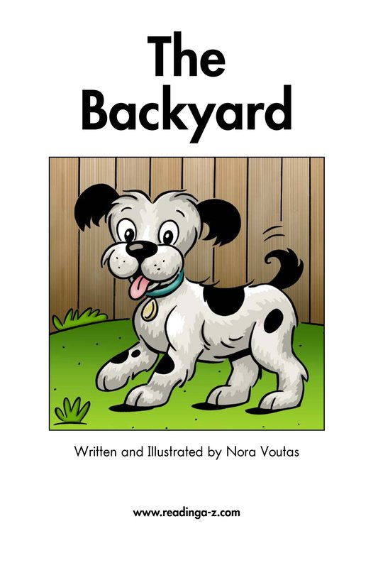 Book Preview For The Backyard Page 2