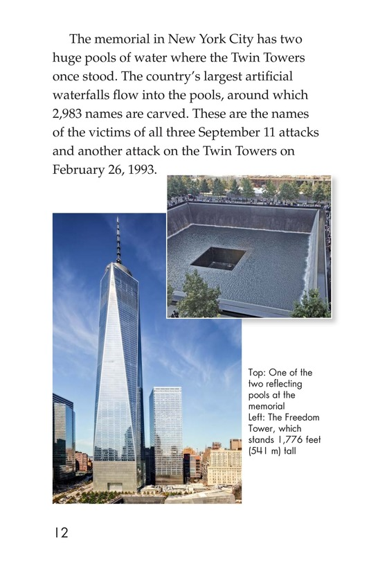 Book Preview For September 11: Always Remember Page 12