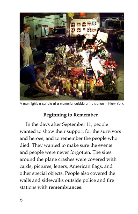 Book Preview For September 11: Always Remember Page 6