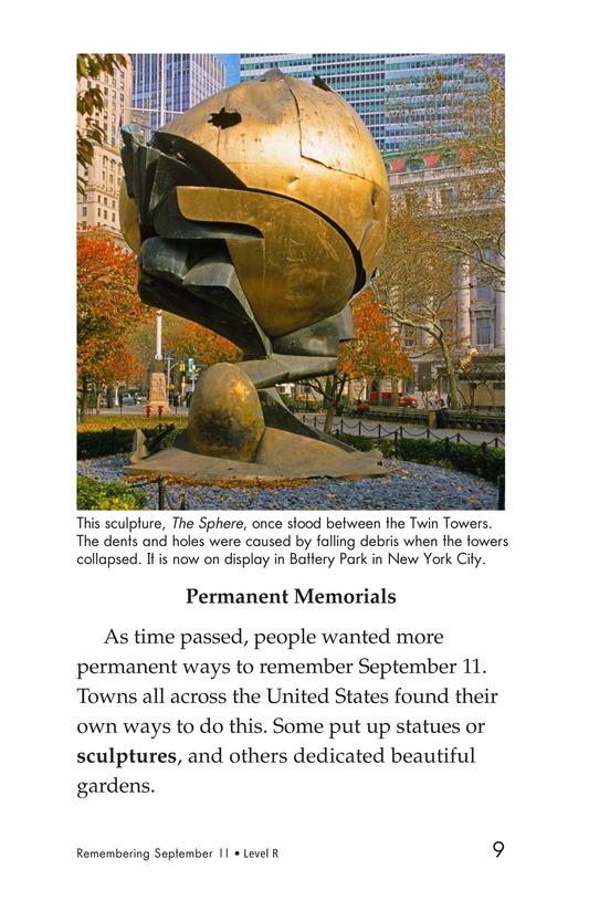 Book Preview For September 11: Always Remember Page 9