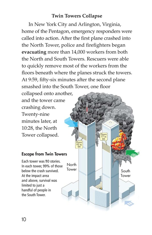 Book Preview For 9/11: A Dark Day Page 10