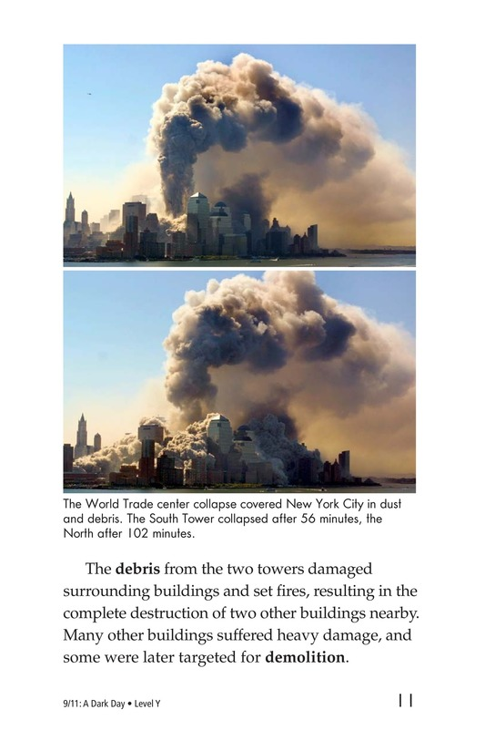 Book Preview For 9/11: A Dark Day Page 11