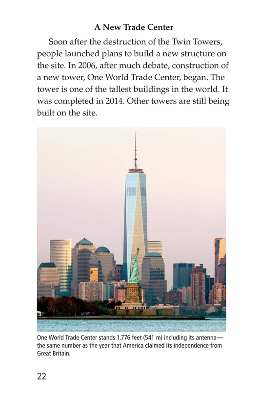 Book Preview For 9/11: A Dark Day Page 22