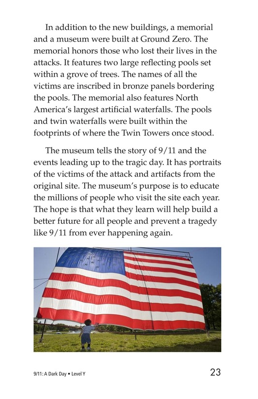 Book Preview For 9/11: A Dark Day Page 23