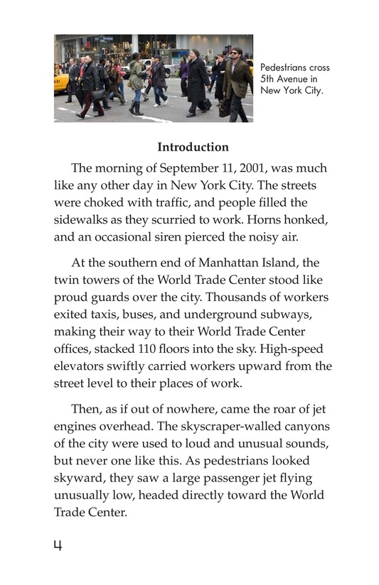 Book Preview For 9/11: A Dark Day Page 4