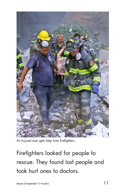 Book Preview For Heroes of September 11 Page 11