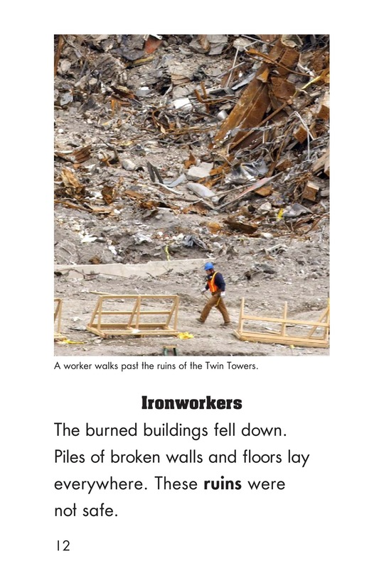 Book Preview For Heroes of September 11 Page 12