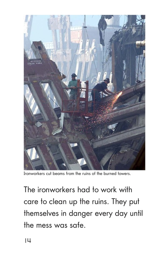 Book Preview For Heroes of September 11 Page 14