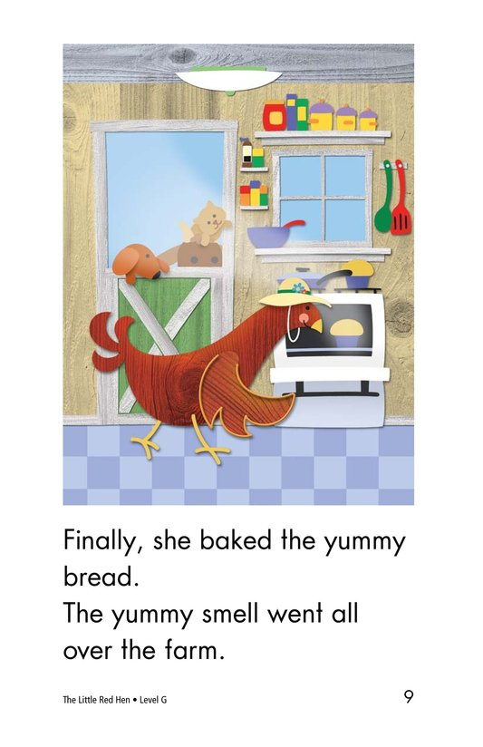 Book Preview For The Little Red Hen Page 9
