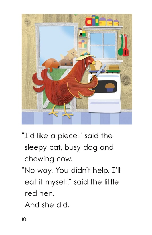 Book Preview For The Little Red Hen Page 10
