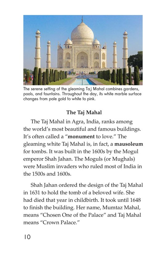 Book Preview For Seven Wonders You Can Visit Page 10