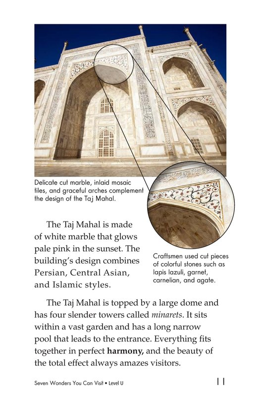Book Preview For Seven Wonders You Can Visit Page 11