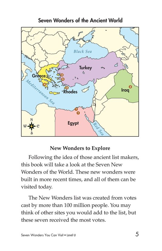 Book Preview For Seven Wonders You Can Visit Page 5
