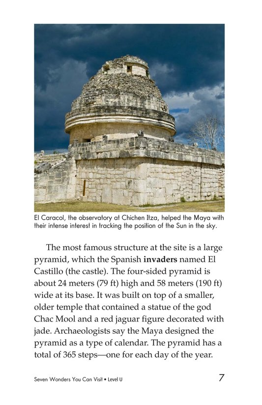 Book Preview For Seven Wonders You Can Visit Page 7