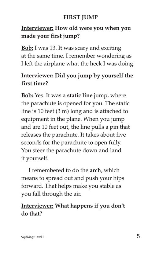 Book Preview For Skydiving Page 5