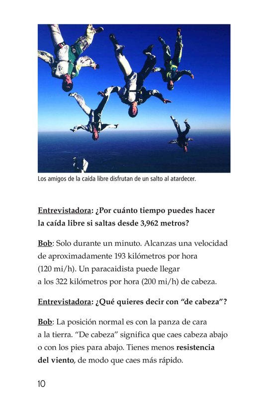 Book Preview For Skydiving Page 10
