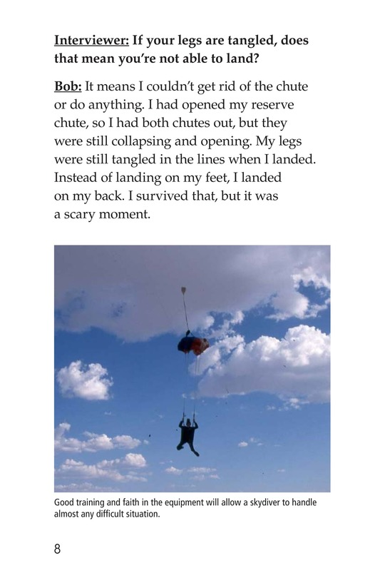 Book Preview For Skydiving Page 8