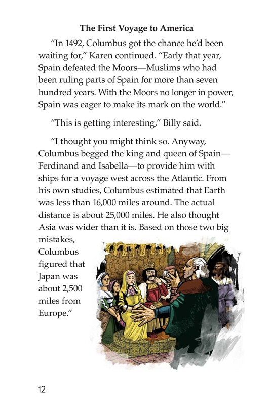 Book Preview For Christopher Columbus Page 12