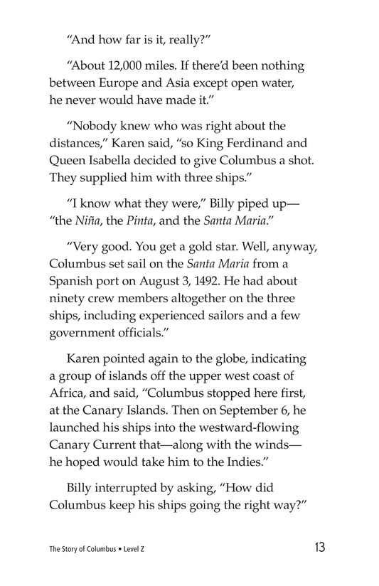 Book Preview For Christopher Columbus Page 13