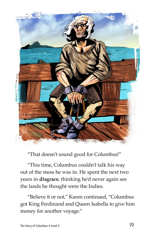 Book Preview For Christopher Columbus Page 19
