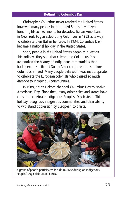 Book Preview For Christopher Columbus Page 23
