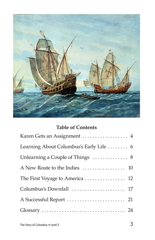 Book Preview For Christopher Columbus Page 3