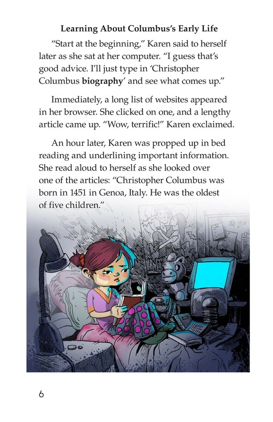 Book Preview For Christopher Columbus Page 6
