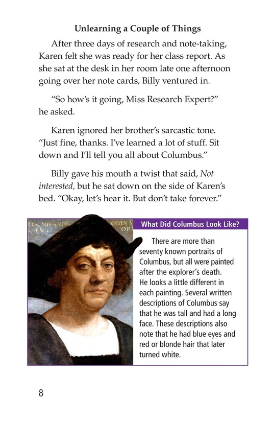 Book Preview For Christopher Columbus Page 8