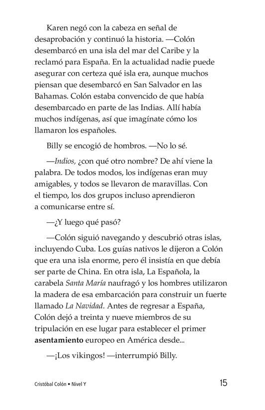 Book Preview For Christopher Columbus Page 15