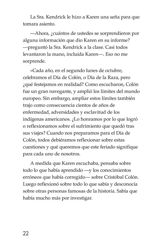 Book Preview For Christopher Columbus Page 22
