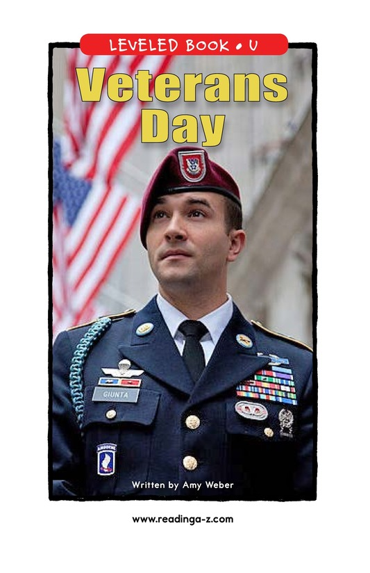 Book Preview For Veterans Day Page 1