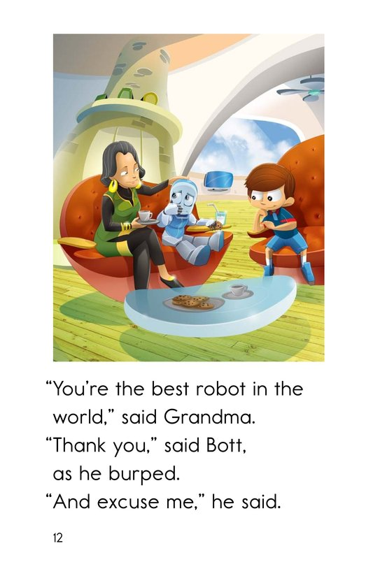 Book Preview For Rude Robot Page 12